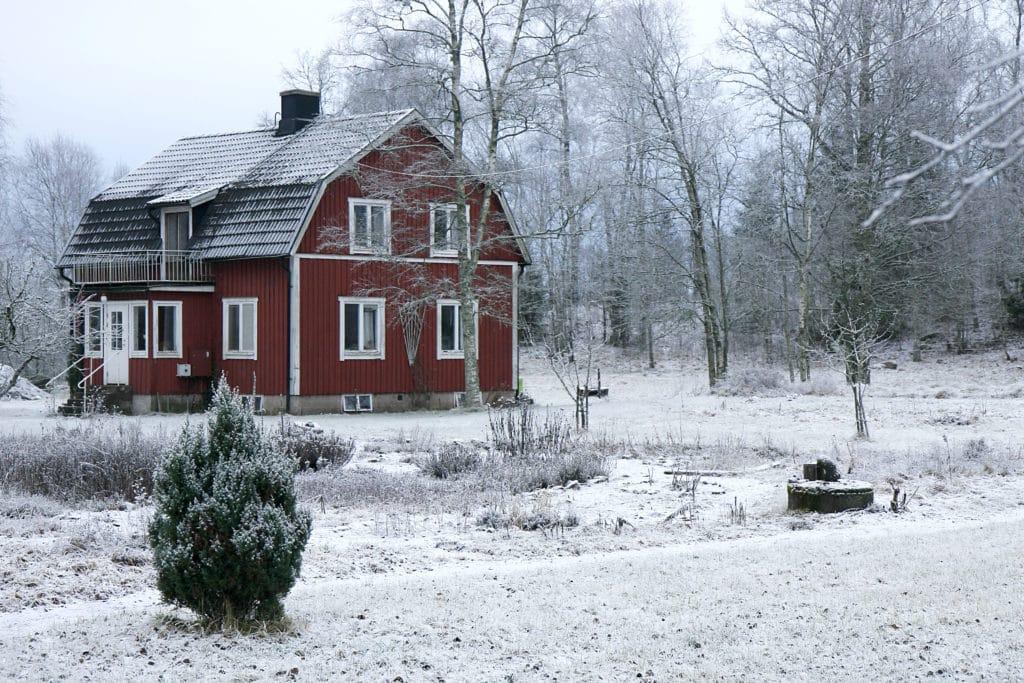 Ekebacken - house where some yoga teachers live
