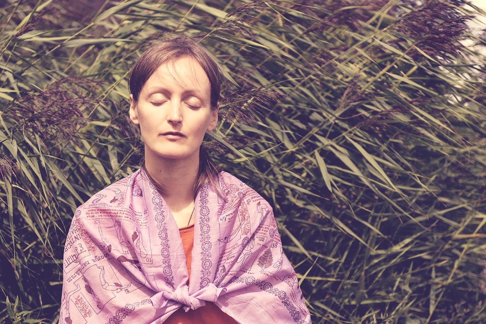 Vigyana Shakti meditating