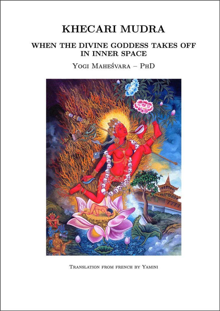 Cover of the book Khecari Mudra, when the divine godess takes off in inner space.
