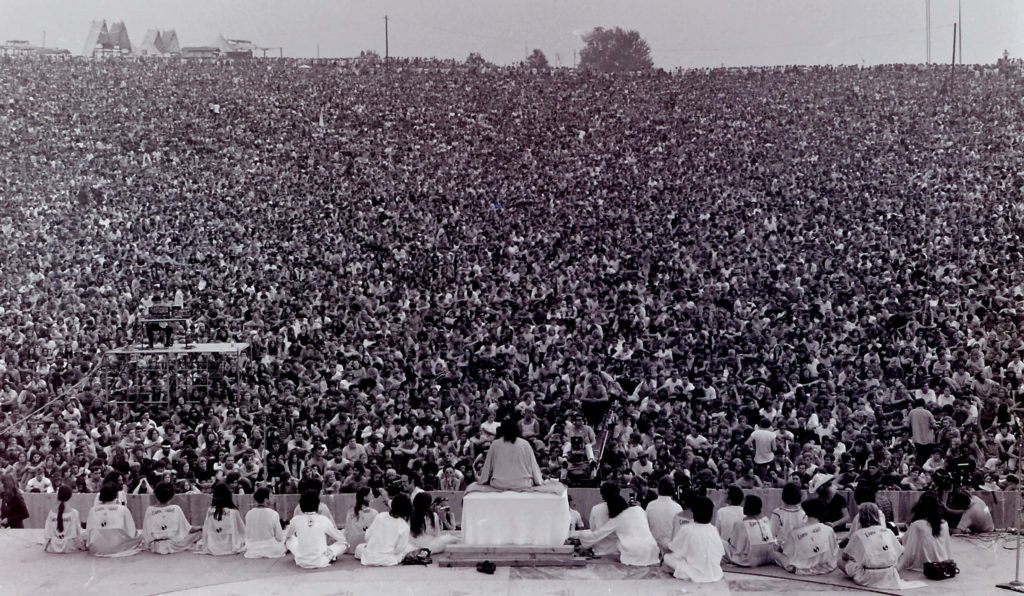 Satchidananda, the man who coined the term integral yoga