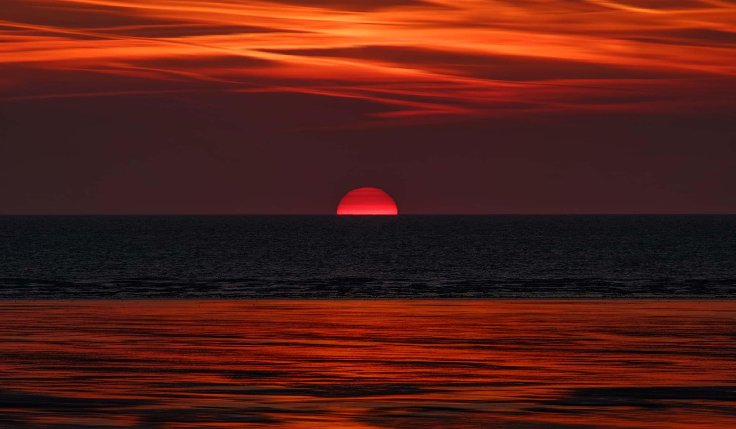 Sunrise - Best time for yoga nidra