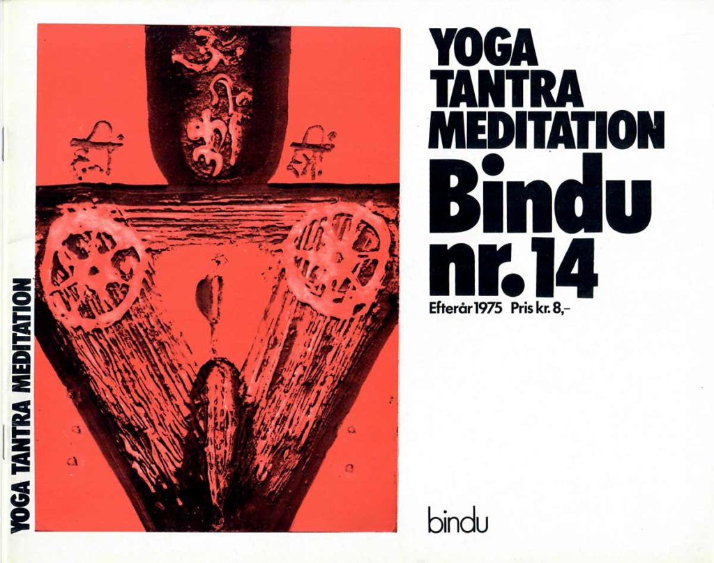 Cover of Danish Bindu nr 14.